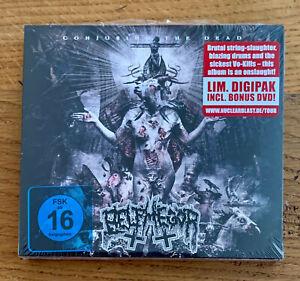 BELPHEGOR-Conjuring-the-dead-Limited-digipak-CD-DVD-New