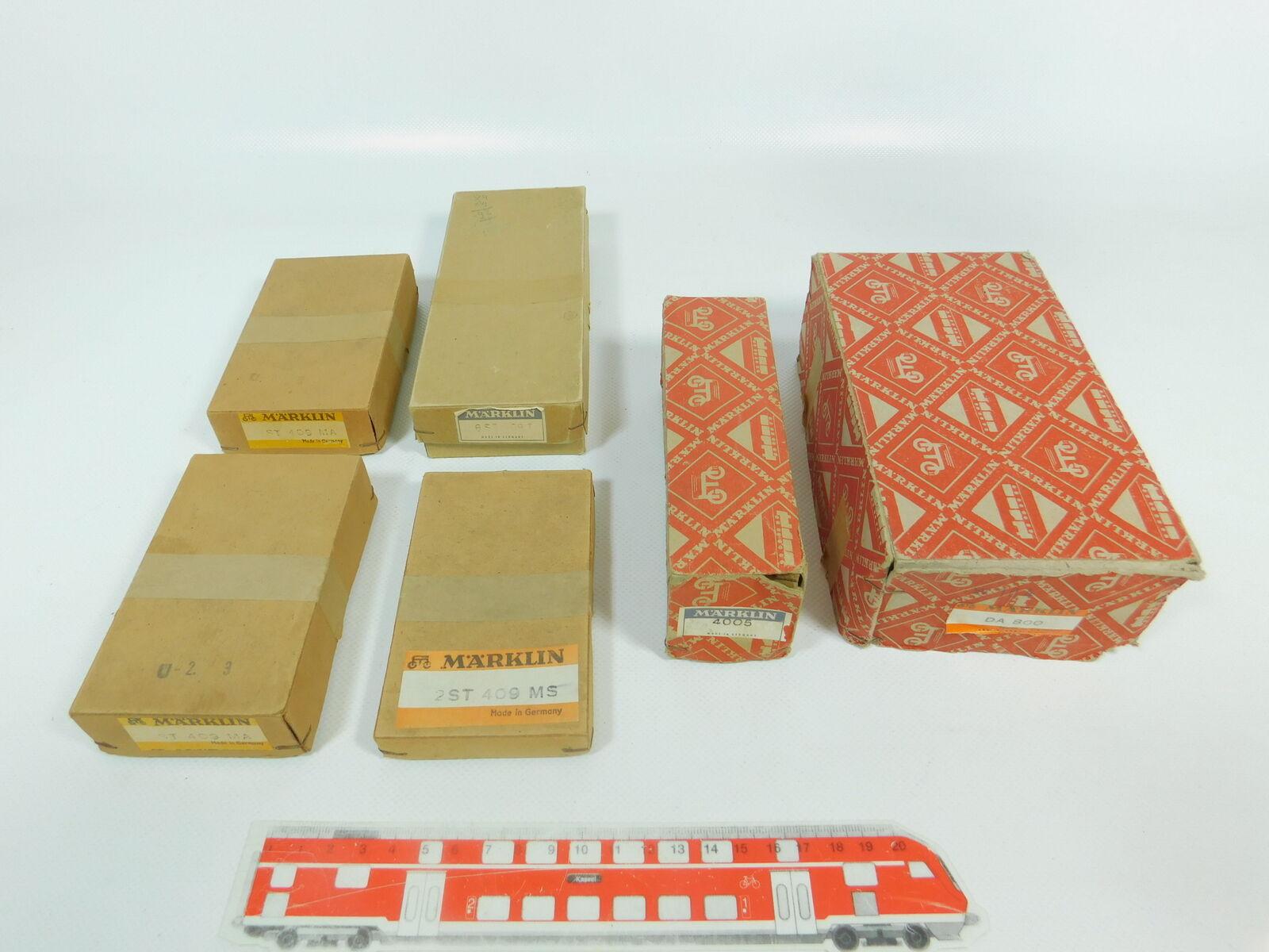 Bn967-1 x MÄRKLIN H0 Caja Vacía   4005+409mA + 409MS + 409T etc.