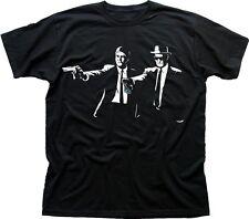 Breaking Bad PULP FICTION Jesse Walter Heisenberg black cotton t-shirt 9609