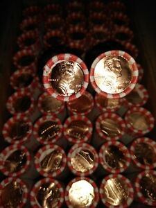 FREE SHIPPING 10 Uncirculated 2019 D Pennies From Bank Wrapped Roll