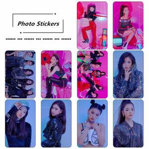 Kpop-ITZY-IT-039-z-Different-HD-Photocard-Stickers-RYUJIN-YUNA-Photo-Stikcy-Cards