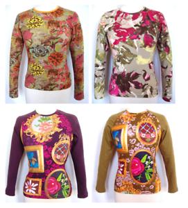 Oilily T-Shirt Gr M und L NEU Damen mit Druck  shirt for women