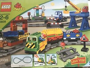 LEGO-Duplo-Deluxe-Train-Set-5609-Hard-To-Find-Retired