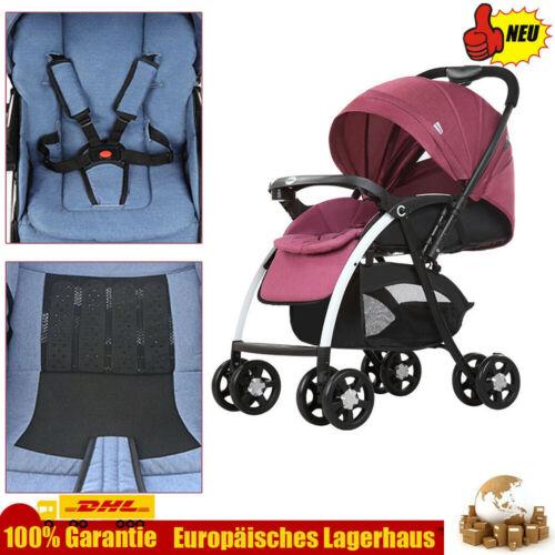 Buggy Spazierwagen Klappbar Kinderwagen Reisebuggy mit Storage Basket Max 25kg