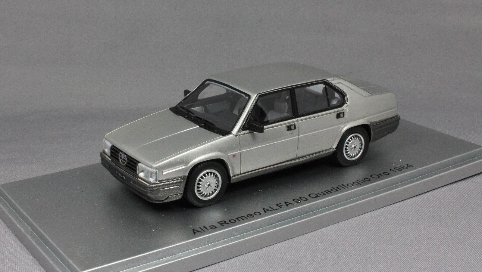 Kess Alfa Romeo Alfa 90 Quadrifoglio Light Grey Metallic 1984 KE43000191 Ltd 250