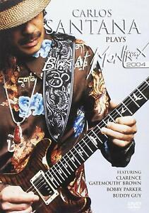 CARLOS-SANTANA-PLAYS-BLUES-AT-MONTREUX-2004-PAL-All-Region-DVD-NEW