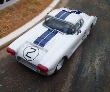 Probuild from 1/32 GTM slot kit CORVETTE c1960 Le Mans #2 Briggs Cunningham RTR