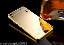 For Lenovo A7000 / K3 Note Mirror Acrylic Back Case Cover Aluminium Metal Bumper