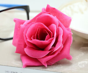 20 pcs 8cm rose simulation flowers silk flower heads wedding image is loading 20 pcs 8cm rose simulation flowers silk flower mightylinksfo