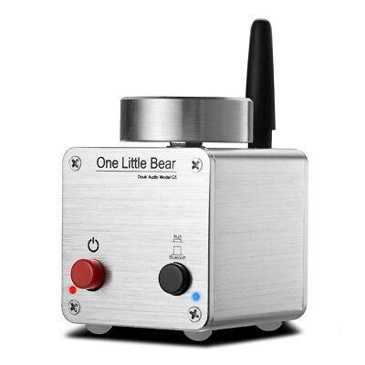 Little Bear G5 Silver Mini Amplifier Bluetooth 4.0 Digital Power Amp Stereo 50W