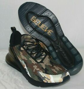 """low priced fe842 b1a6a Details about Nike Air Max 270 Doernbecher Freestyle men's size 15 """"Always  Believe"""" Camo Army"""