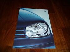 VW Golf SPORT EDITION Prospekt 04/2002