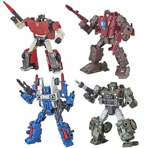 Transformers War For Cybertron Siege Deluxe Cog Hound Sideswipe & Skytread