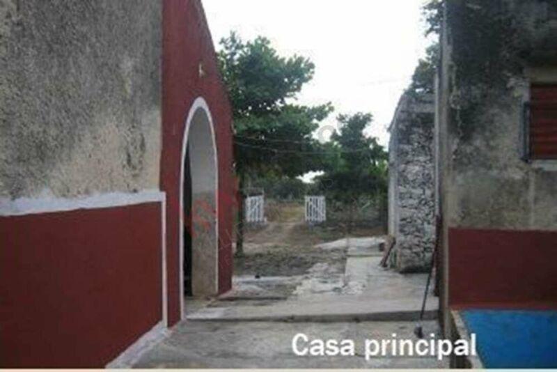 Hacienda en excelente ubicación de Yucatán
