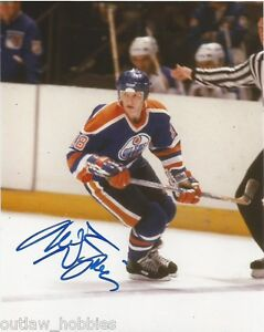 Edmonton-Oilers-Mark-Napier-Autographed-Signed-8x10-Photo-COA
