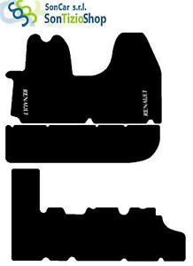 DECORO: RENAULT 04/' bianco 4Block! 9 Posti TAPPETI RENAULT TRAFIC 2 dal 2001