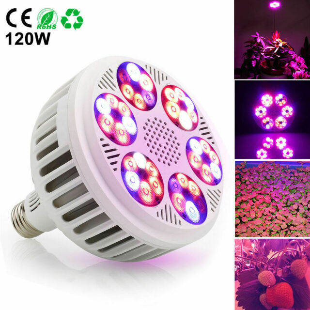 120W Full Spectrum LED Plant Grow Light for Veg Bloom Lamp Indoor Greenhouse