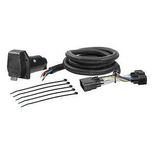 trailer connector kit custom wiring harness 56307 fits 15 18 ford f rh ebay com custom wiring harness for cars custom wiring harness for trucks