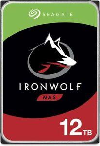 "Seagate IronWolf NAS 12TB 3.5"" Internal HDD (ST12000VN0008)"