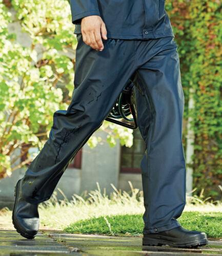 Regatta Stormflex ® MEN/'S Blu Scuro Impermeabile Sovrapantaloni-leggero elastico