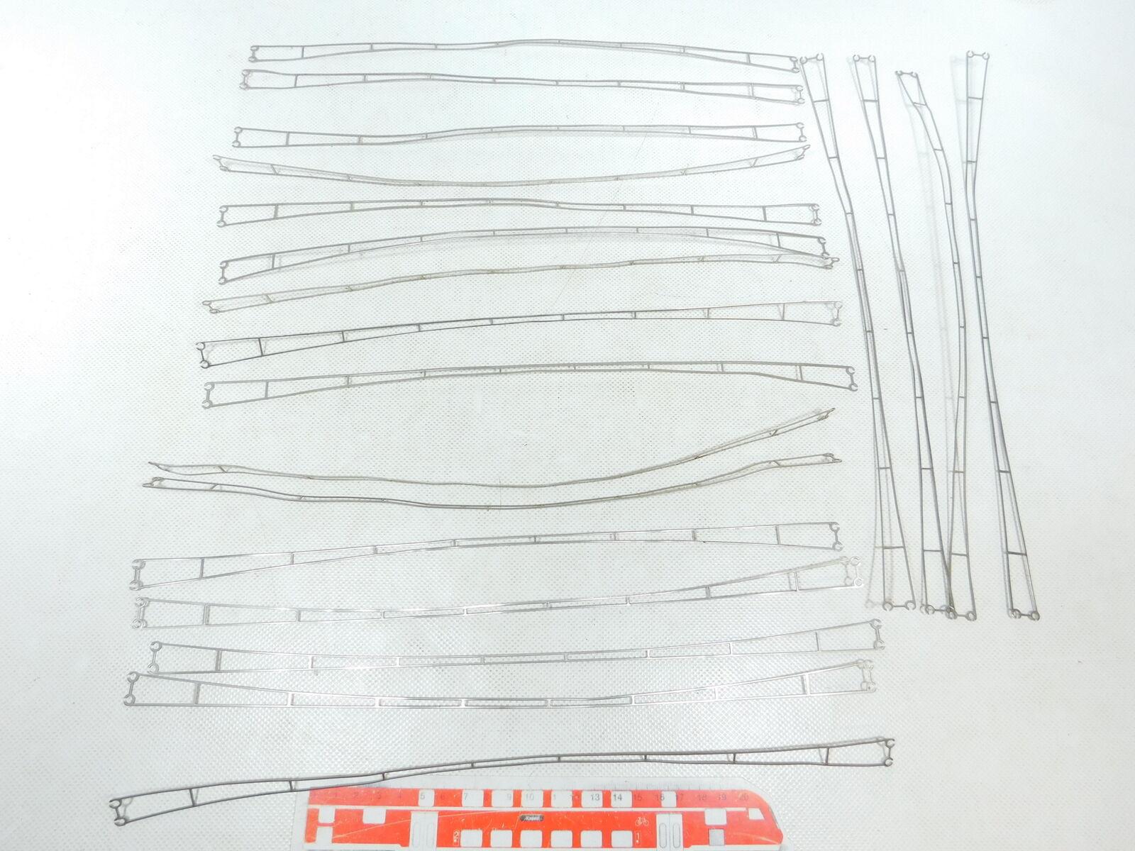 BW361-0,5 X Märklin H0   Ac 7019 Piezas de Alambre 36cm para Catenaria,Muy