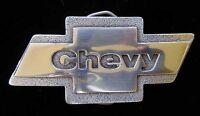 Chevy Bowtie Logo Belt Buckle Licensed