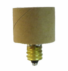 INTERMEDIATE to CANDELABRA  ~ Light Bulb Socket ~ REDUCER ADAPTER ~ #GB90