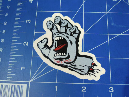 new and sold out Santa Cruz skateboards sticker graphics Hands Jessee Slasher
