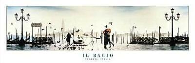 Maxi Poster 91.5cm x 61cm new and sealed Venice Il Bacio