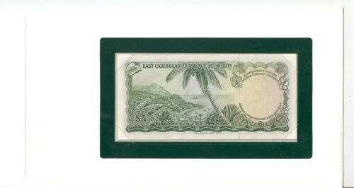 Eastern Caribbean St Nevis 5 Dollars 1965 UNC Pick 14h Banknotes of all Nations
