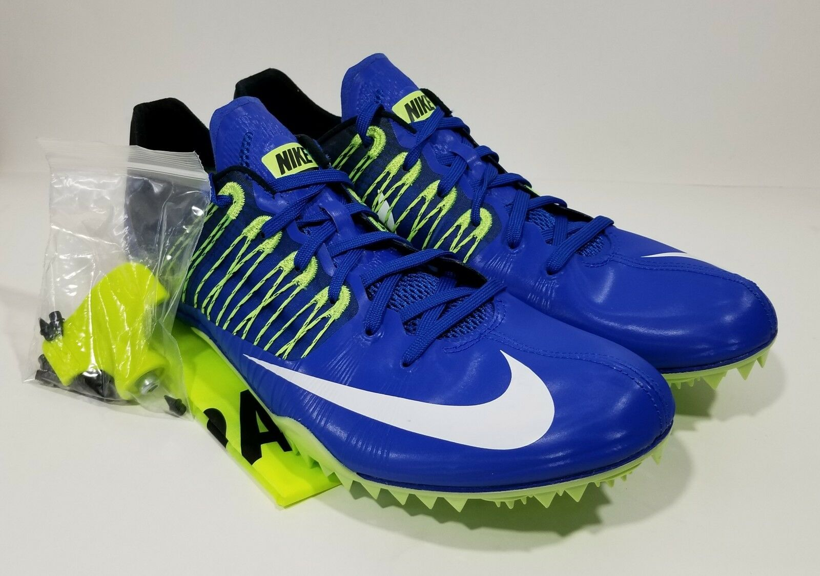 Nike Zoom Celar 5 Mens Track & Field Spikes Blue White Comfortable  Brand discount