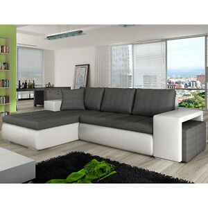 Image Is Loading Corner Sofa Bed ATLANTIS Storage Container Sleep Function