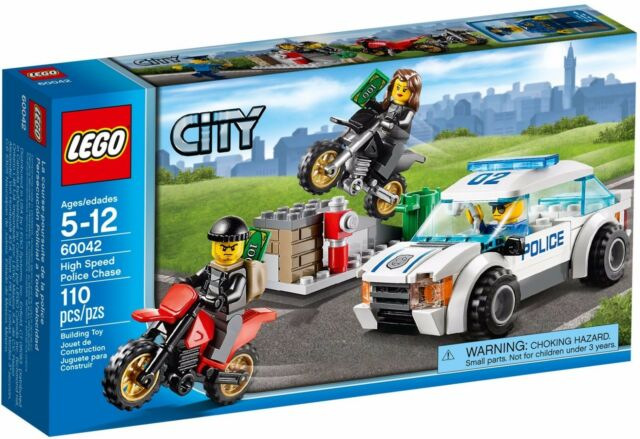 LEGO City High Speed Police Chase (#60042)(Retired 2014)(Rare)(NEW)