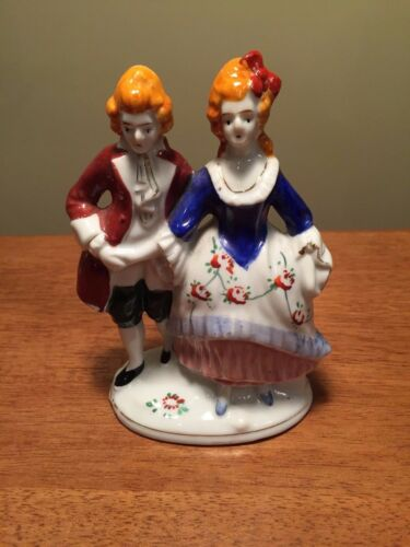 Vintage Antique Porcelain great couple height is 5.8 inches Occupation Japan