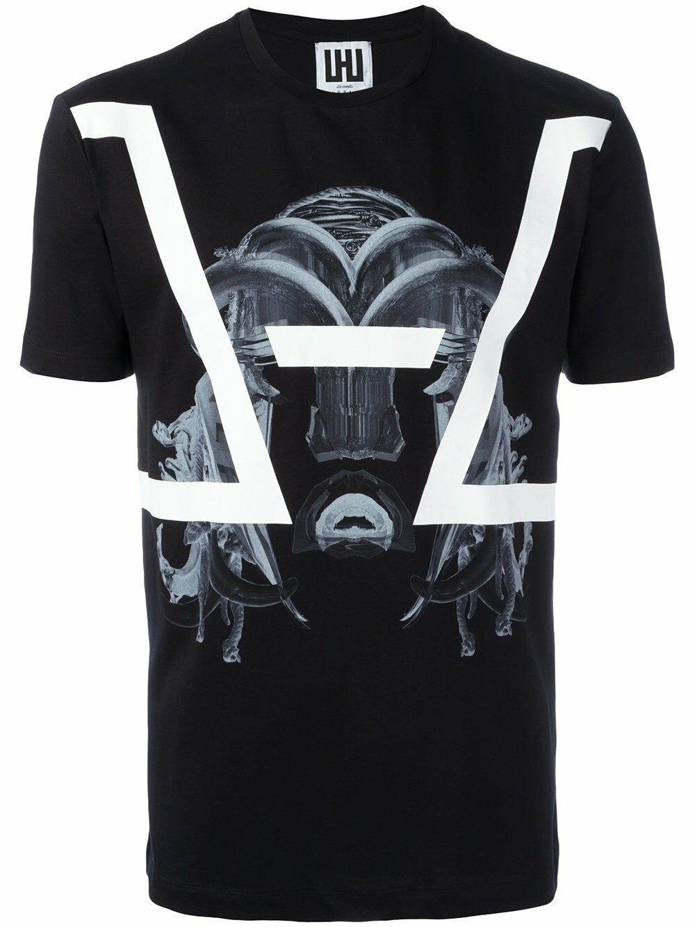 LES men MASK Print t-shirt