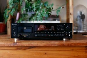 SONY DTC-55ES Dat Player Recorder for PARTS or Repair Project Defect AS IS