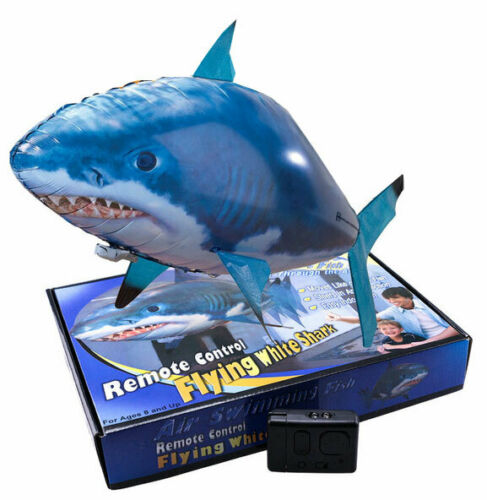 RC Air Swimmers- flying shark - squalo volante giocattolo radiocomandato