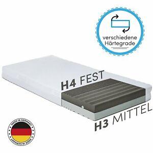 Details Zu 2 Härtegrade H3 H4 In Einer Premium Matratze 7 Zonen Kaltschaum 140x200 90x200