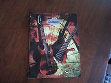 IBANEZ 2001 GUITAR CATALOG BOOK