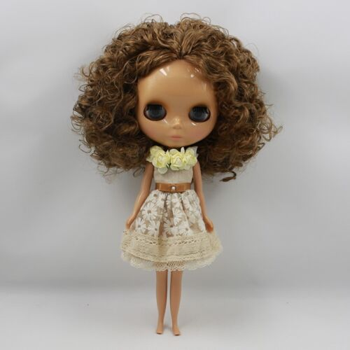 "New Arrival !12/"" Neo Blythe Doll Tanned Skin Nude Doll from Factory Gift J85008"