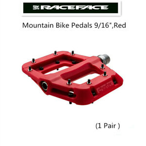 """/<Red/> Race Face Chester Platform Mountain Bike Pedals 9//16/"""""""