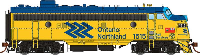 Radio Radio Radio rapido GMD FP7 Ontario septentrional ONR Chevron 35repas 1502 DCC W   sound - ho e2e