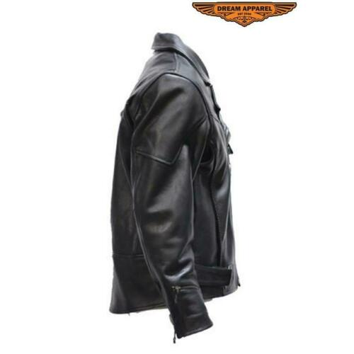 Mens Braided Pistol Pete Motorcycle Jacket