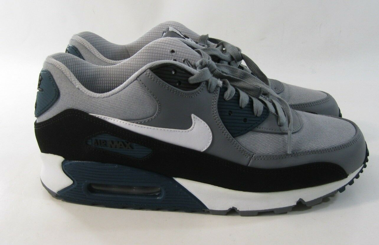 Nike Running Chaussures Air Cushion 333888-030 Vintage Gray Noir Bleu 333888-030 Cushion e21ac9