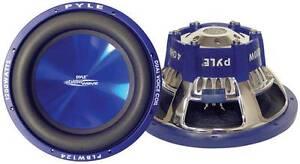 "NEW 12"" DVC SubWoofer Speaker.dual 4 ohm voice coil.twelve inch bass sub woofer."