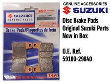 FRONT SET DISC BRAKE PADS GENUINE SUZUKI GSXR750 K6 K7 K8 K9 L0 (06-10)