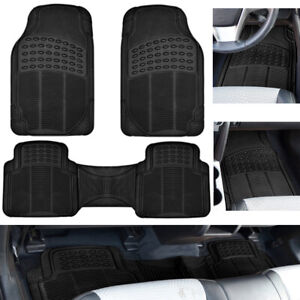 Car-Floor-Mats-for-Auto-All-Weather-Rubber-Liners-Heavy-Duty-Fit-Black-3pc-Pack