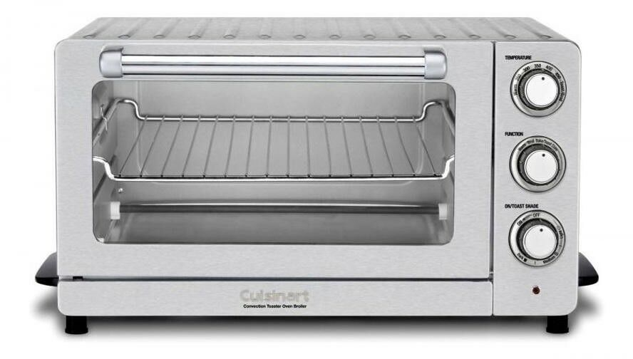 Cuisinart TOB-60N1 Toaster Oven Broiler Convection Stainless Steel 1500W 500F