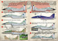 "Print Scale 1/144 Mikoyan MiG-29 ""Fulcrum"" # 14412"
