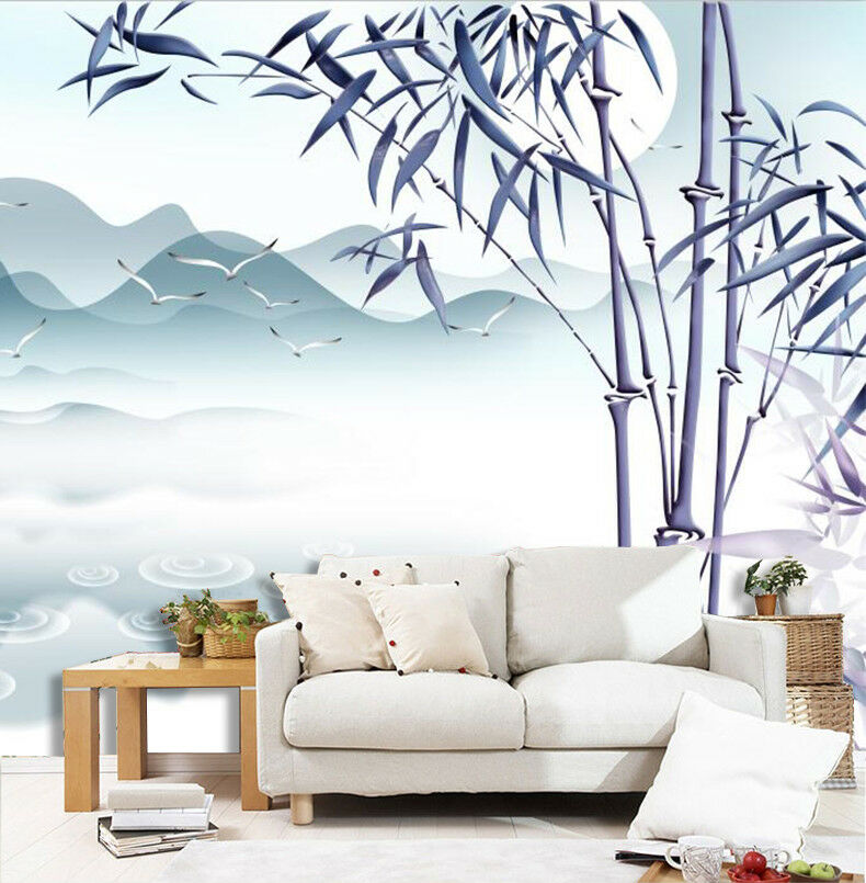 3D 3D 3D Bamboo Mountain 98 Wallpaper Mural Wall Print Wall Wallpaper Murals US Carly 0a0d6a